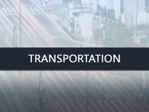 Transportation - Infinite Staffing Solutions